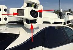苹果自动驾驶车3.0曝光 满头都是传感器