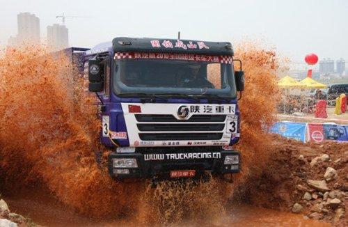 2010卡车大赛 史上最牛重卡越野激活长沙