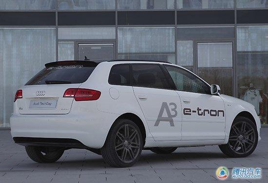 或亮相上海车展 奥迪发布A3 e-tron电动车