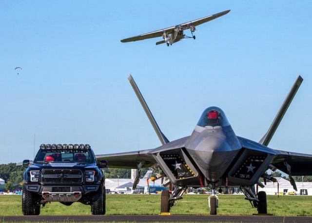 用气势征服你 福特F-150猛禽F-22特别版官图