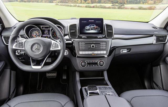 奔驰GLE450 AMG四驱版官图发布 输出367Ps