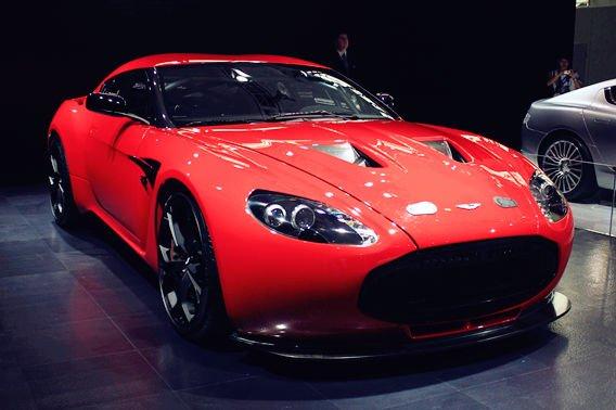 价值1000万RMB的阿斯顿马丁 V12 Zagato
