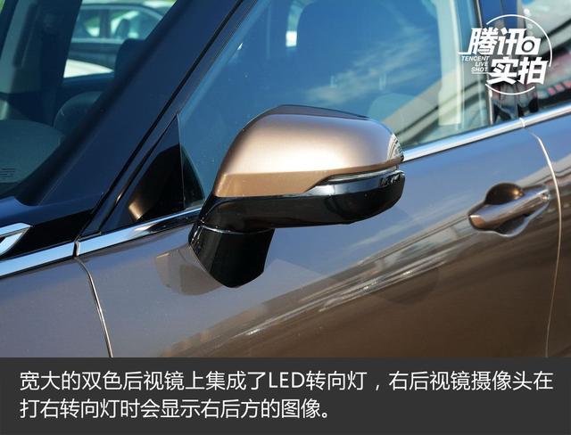 中型SUV市场搅局者 实拍冠道370 TURBO 四驱
