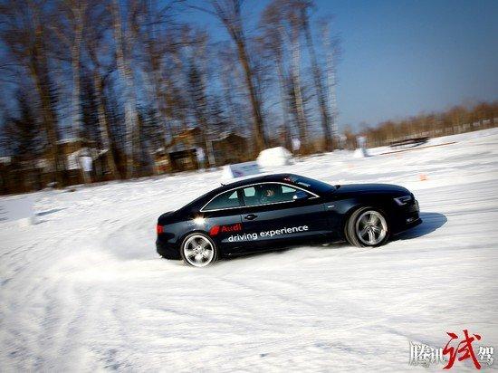 腾讯冰雪试驾奥迪quattro全系 四驱的魅力
