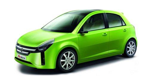绿色的时尚 华晨中华A0级概念车亮相车展