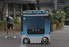 PerceptIn深圳推无人驾驶流动售货车 还可播放视频广告