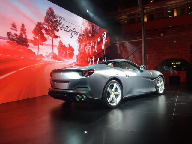 法拉利Portofino正式上市 售价290.80万元