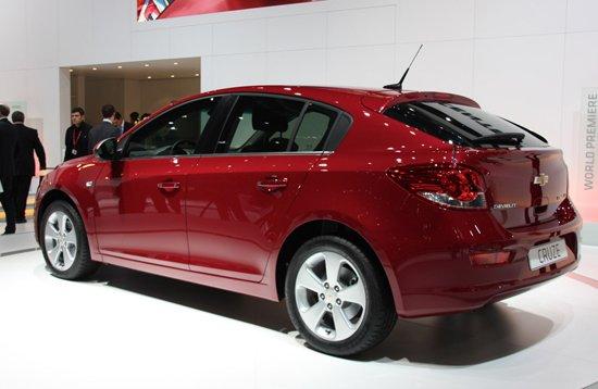国产首推1.6L 两厢科鲁兹量产版正式发布