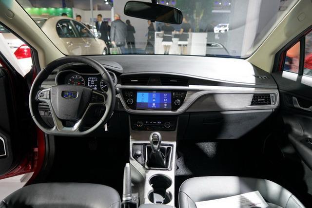 新能源车玩出新名堂 吉祥帝豪GS甲醇车亮相