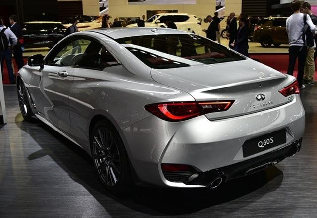 英菲尼迪新Q60将上海车展上市 预售45万起