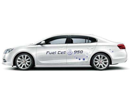 上汽展出两款氢燃料电池车 明年可对标丰田