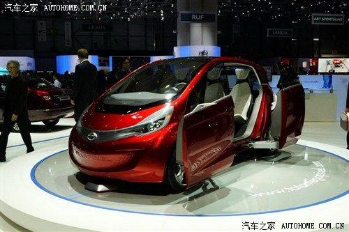 TATA发布Megapixel概念车 续航890公里