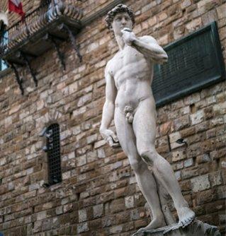 米开朗基罗的雕塑作品《大卫》