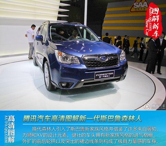 [图解新车]广州车展 全新新森林人国内首秀