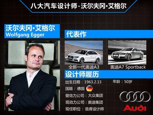 平均53岁 盘点全球八大知名汽车设计师