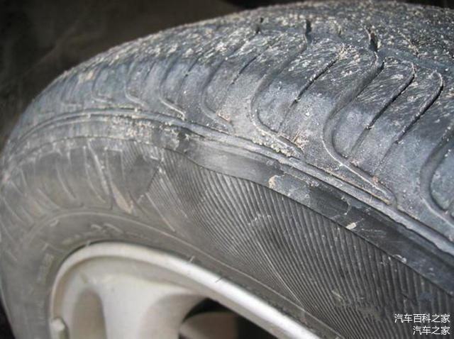 轮胎鼓包的原因是什么 新轮胎鼓包能到4S店索赔吗