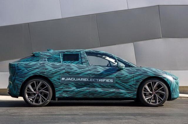 捷豹首款纯电动SUV I-PACE量产版2018年亮相
