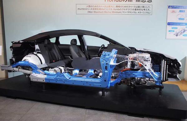 本田燃料电池车Clarity上市 仅限地区租售
