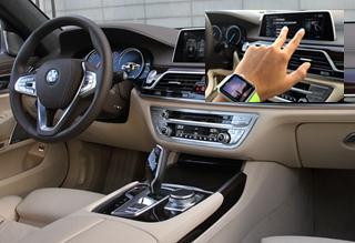 手势操作创新体验 第六代宝马7系科技解读