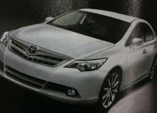 新凯美瑞疑似量产车图片曝光 年底前发布