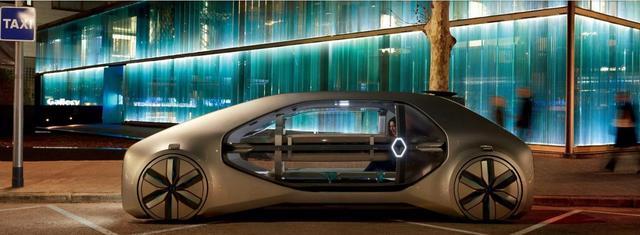雷诺公布4级自动驾驶电动概念车EZ-GO