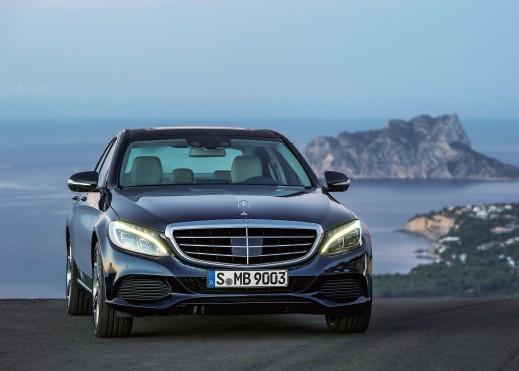 Mercedes-Benz C-Class绝地反击 奔驰新C级