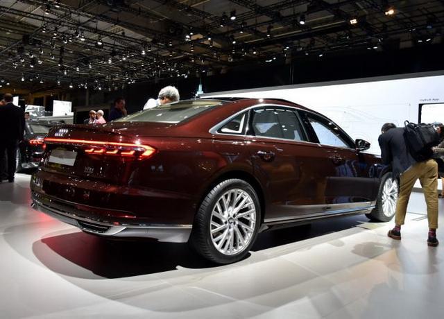 正面临决疾驰S 全新奥迪A8L将于2018年上市