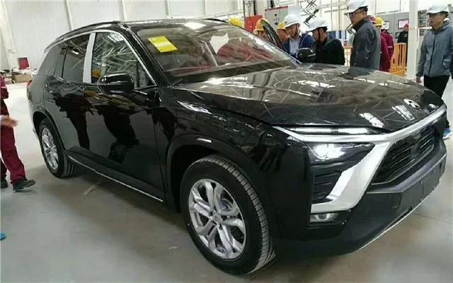 """高性能纯电7座SUV! 新增""""江淮蔚来""""尾标"""