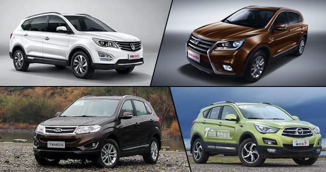 四款高品质自主SUV推荐 实惠的家用之选