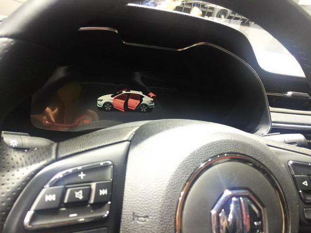 名爵6混动高性能版展台亮相 搭载混动系统