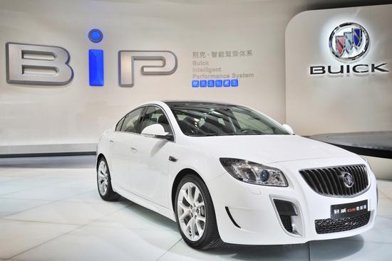 上海通用汽车三大品牌重磅出击成都车展图片