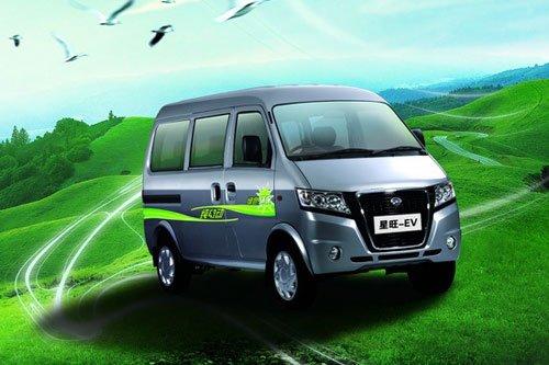吉奥首款纯电动汽车星旺EV亮相杭州车展