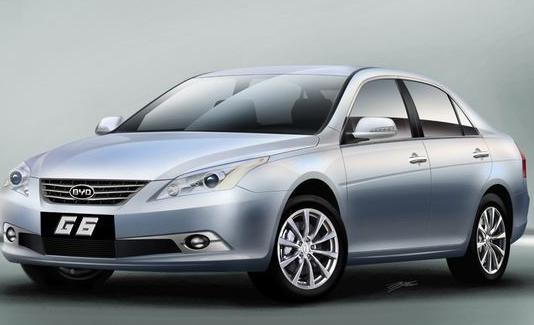比亚迪G6发力高端豪华车市 亮相广州车展