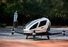 """中国制造无人驾驶飞机""""出租车""""将在迪拜试航"""