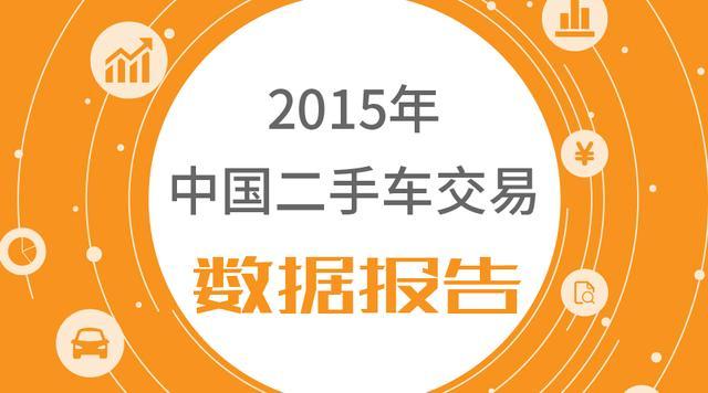 2015年中国二手车交易数据报告
