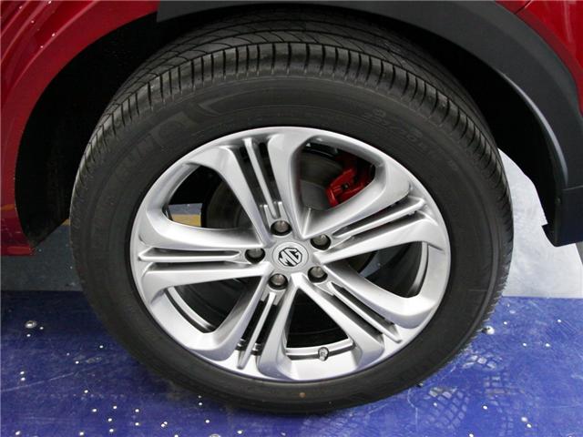 名爵HS采用了米其林3ST系列轮胎