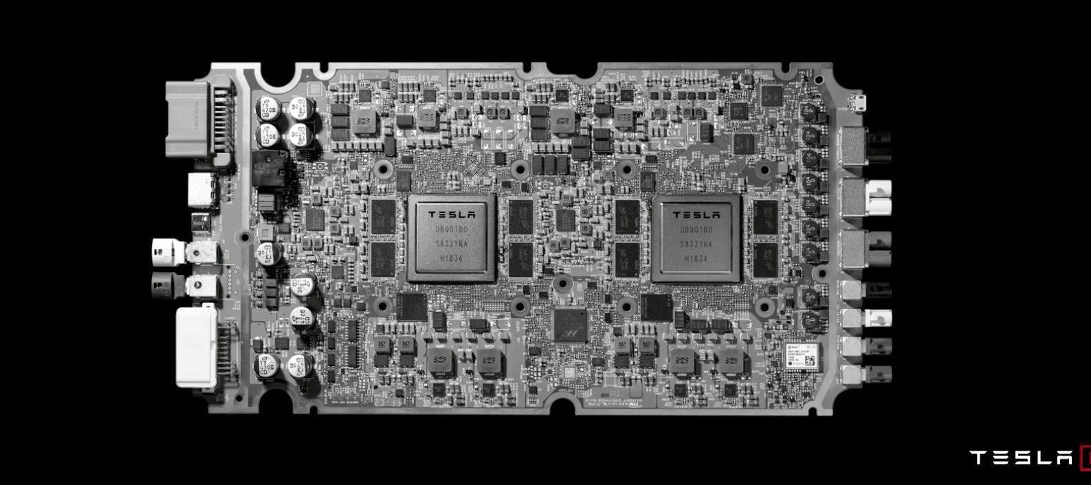 """特斯拉推出全新全自动驾驶计算机 号称""""全球最好芯片"""""""