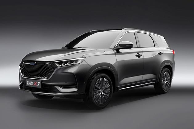 欧尚X7官图发布 将亮相上海车展