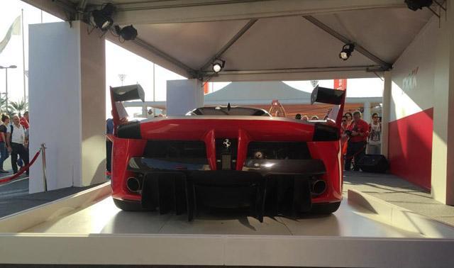 法拉利FXX K实车正式发布 最大马力1050Ps