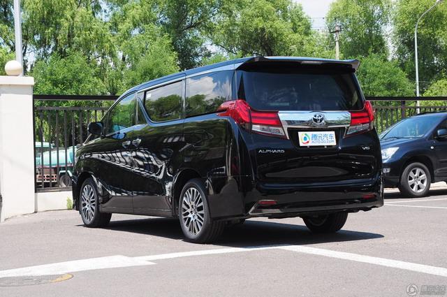 加价神车售价上涨5万元 丰田新款埃尔法上市