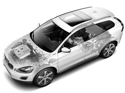 沃尔沃推插电式混动XC60 底特律车展亮相