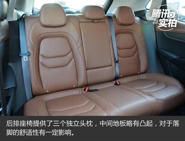 设计时尚颜值高 实拍宝沃BX5四驱尊享型