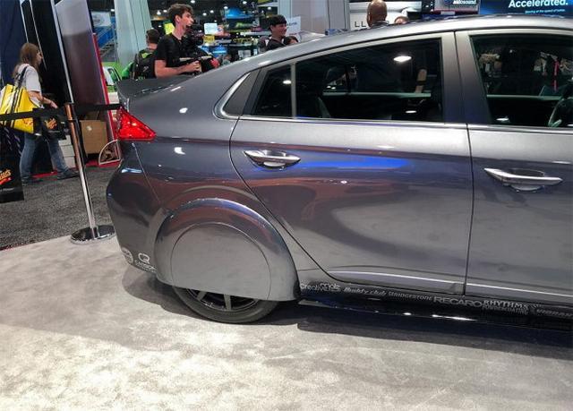 性能更加出色 现代Ioniq概念车正式亮相