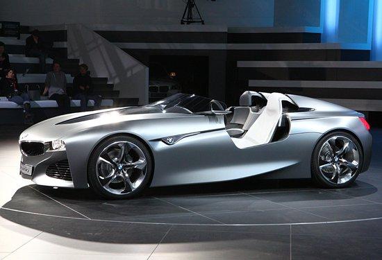 完全敞篷设计 宝马发布新混动超跑概念车