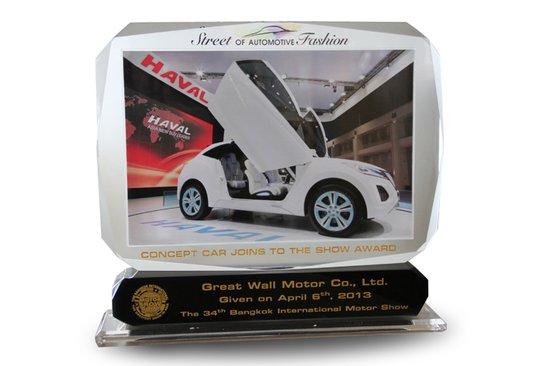 哈弗E荣获第34届泰国曼谷国际车展概念车奖