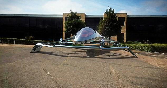 汽车制造商阿斯顿·马丁正在开发三座微型飞机