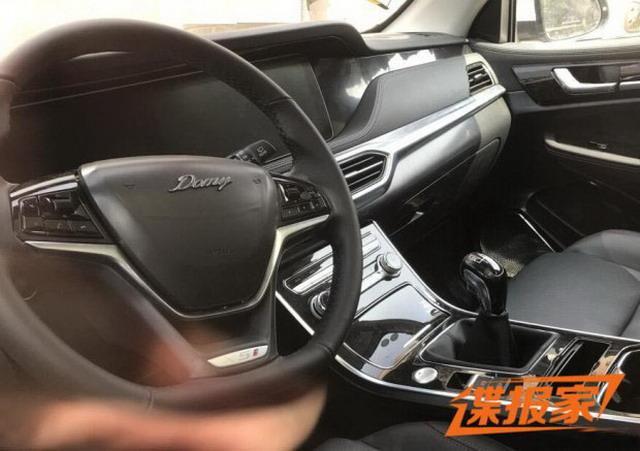大迈X5升级版 众泰大迈X5S实车曝光