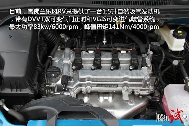 雪佛兰乐风RV购车手册 推荐1.5L自动趣行版