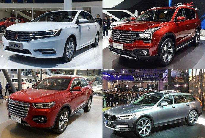 2017上海车展上市新车汇总 8.89-6680万元