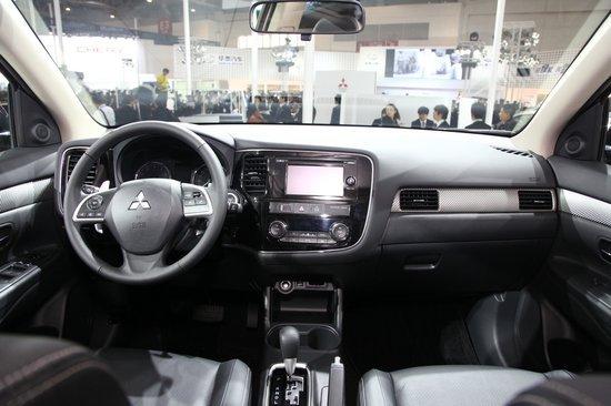 全新欧蓝德EX车展首发 年底正式引入国内